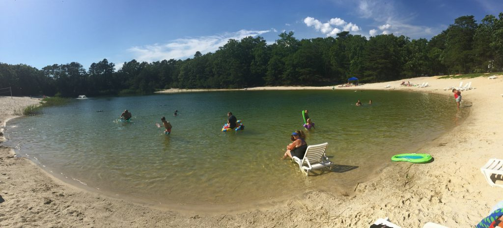 Swimming Lake at Sea Pines