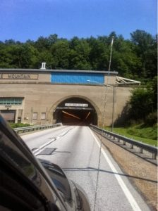 Tunnel on PA Turnpike