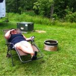 It was a weekend of R&R for my aunt
