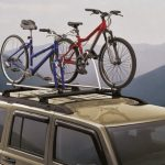 Bikes On Top of Truck