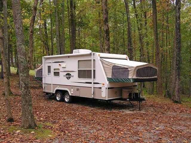 A Hybrid Camper In Its Natural Environment