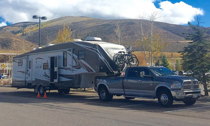 Hitching My Fifth Wheel A Pictorial Learn To Rv