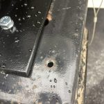 We Had to Tap The Pin Box Shroud Hole And Used a Bolt With a Spacer