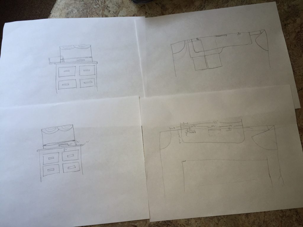 RV Desk Drawings/Plans