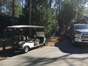 6-Person Golf Cart from Tee Time Golf