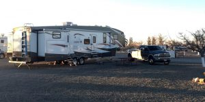 Our site at the KOA in Lordsburg, NM
