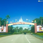 Gates at Back Entry to Disney World
