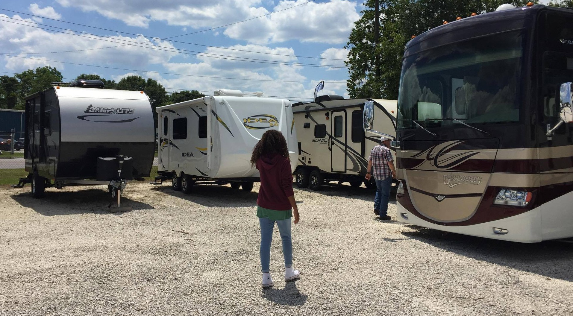 Buying a rv used vs new