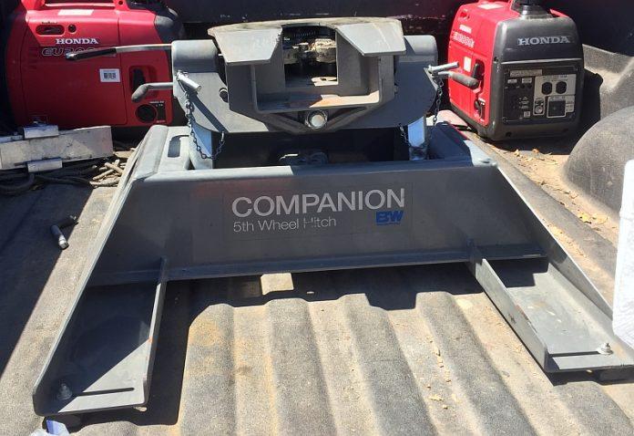 B&W Companion Fifth Wheel Hitch