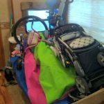 Bikes Inside Camper