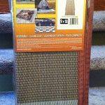 Fireside awning mat