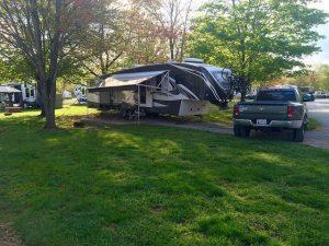 Campsite at Gettysburg Farm