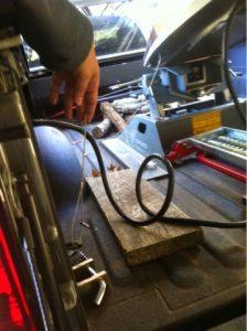 Plug in emergency brakeaway cable - 2