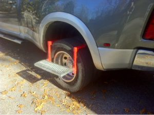 Truck bed step