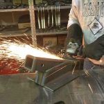 Grind Welds for Finished Product