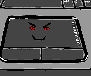 Evil touchpad