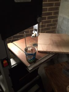 Man Dream: Ice Cream and a Bandsaw