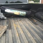 Picture of empty truck bed with a B&W Turnoverball installed
