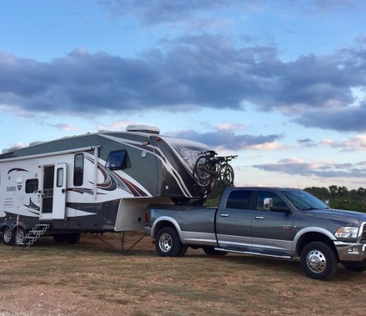 Boondocking at a winery with Harvest Hosts