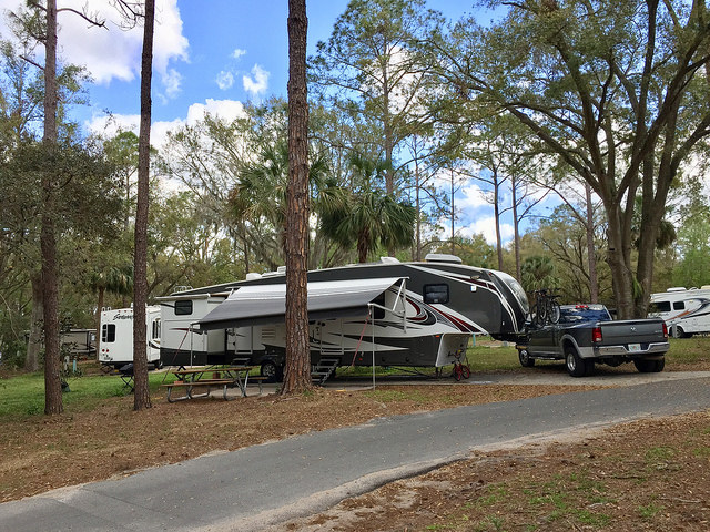 Bill Frederick Park At Turkey Lake Orlando Fl Learn To Rv