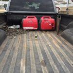 Gooseneck in Truck Bed