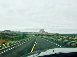 Driving to Kanab Utah