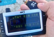 TST TPMS Color Monitor and new Sensor Style