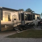 Campsite at the Orlando Kissimmee KOA Holiday RV Park