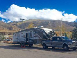 Parked Overnight at Walmart in Avon Colorado