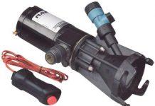Flojet RV wastewater macerator pump